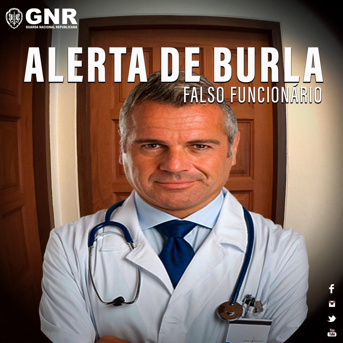 ALERTA DE BURLA | FALSOS PROFISSIONAIS DE SAÚDE E DE OPERADORAS DE TELECOMUNICAÇÕES